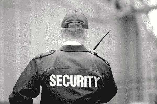 Security Guard Walkie Talkie