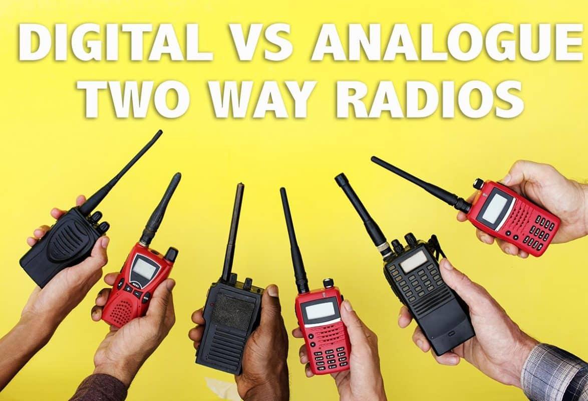 Digital Vs Analogue Walkie Talkies Image