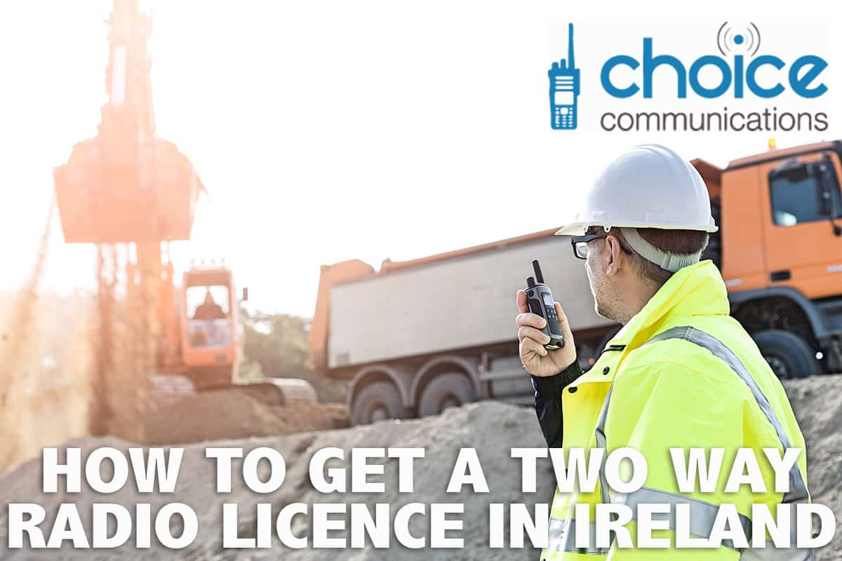 Two Way Radio Licence Ireland Image