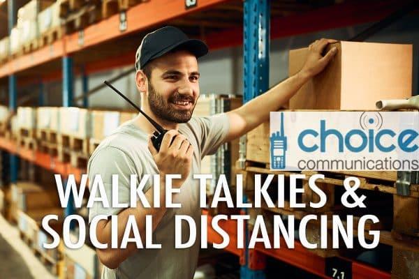 Walkie Talkies Social Distancing Ireland Image