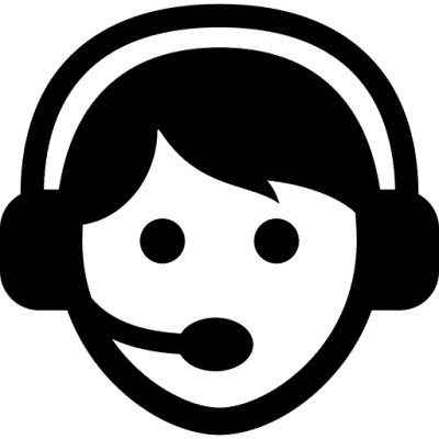 Call Center Worker With Headset